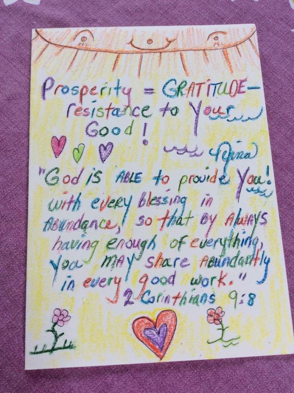 Nina Wilkins Spiritual Prosperity