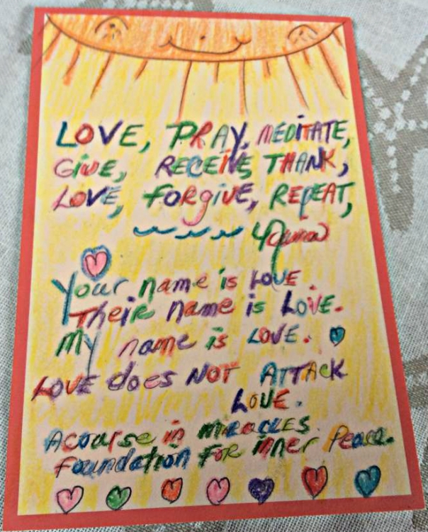 Love, Gratitude, and Forgiveness