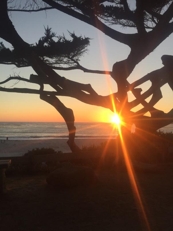 Sunset photo by Hana Wilkins